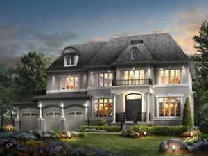 NEW LUXURY HOMES IN CALEDON - 2 - 8 acre lots!