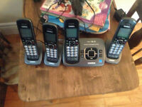 4 piece home phone system