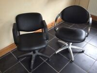Hairdressing Chairs & Back Washing Sink