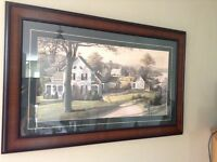 TWO/PAIR of wall decor picture/print/art matching
