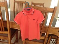 Fred Perry boys t-shirt age 5 - 6 years old