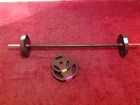 Body Pump barbell/weights