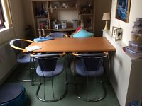 Dining table + for sale.