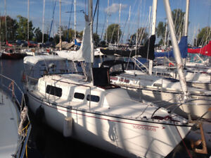 Immaculate Grampian 30 sailboat