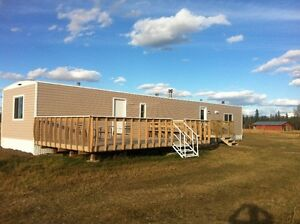 3 BED MOBILE HOME ON 20 ACRES FOR RENT FOR NOV. 01