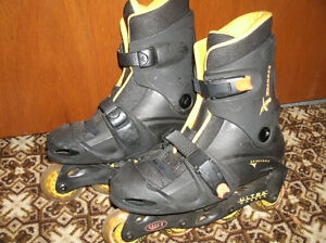 Xpander size 5-8 adjustable rollerblades, like new