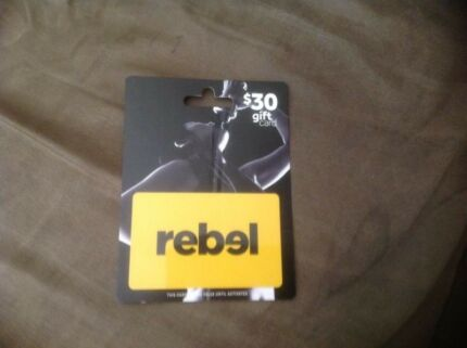 Rebel gift card for sale