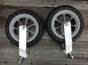 Stroller wheels for chariot stroller