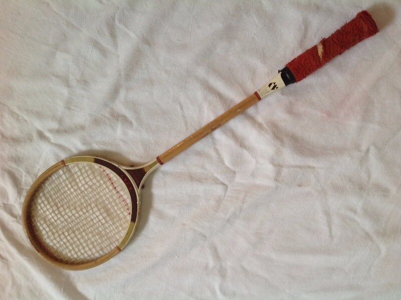 Squash Racquet - Ajay Aristocrat - Wooden - Specially Made for South African conditions
