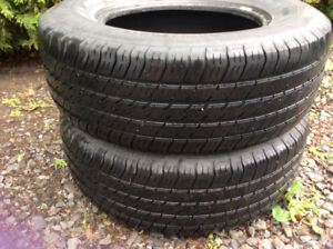 2 pneus (tires) Michelin destiny 215/70R15
