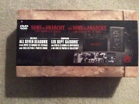 Full set of Sons Of Anarchy Dvd's