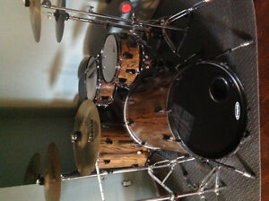 """3/4"""" Stave Drumset"""