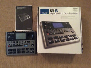 Alesis SR18 | High-Definition Multi-Sampled Electronic Drum Mach