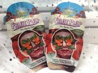 NEW 2x ORGANIC 7th Heaven Montagne Jeunesse Fruit Pulp Face Mask