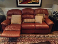 3 Pcs Elran recliners 2 sofas,one chair