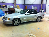 2001 Mercedes-Benz SL-Class 5.0L Coupe (2 door)