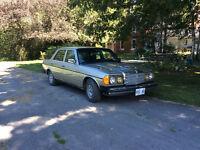 1984 Mercedes 300 turbo diesel