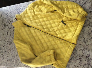 Women's size M LISA CAMPIONE QUILTED JACKET