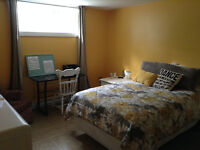 LARGE BEDROOM (FURNISHED OR UNFURNISHED) VERY QUIET SURROUNDINGS