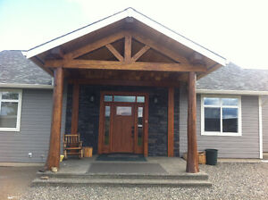 Custom build home in 100 mile House, B.C.
