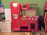 Child's play kitchen