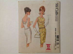 Vintage McCalls's PARTY dress sewing patterns, $5.00 each