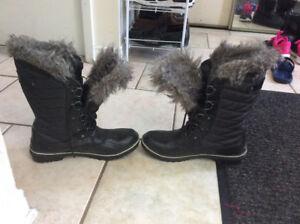 Women's Tofino II Black Waterproof boots
