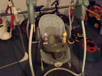 Graco swing - garage sale Sat Sept 5