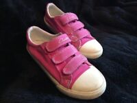 Lovely girl's Pink Doodles by Clarks – size 11