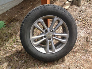 Honda mags et pneus 5x114.3 roues tire Jante mag