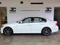 2010 BMW 3 Series 2.0 318d M Sport Business Edition 4dr Diesel white Manual