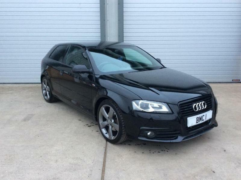 2012 audi a3 2 0 tdi black edition 3dr in norwich norfolk gumtree. Black Bedroom Furniture Sets. Home Design Ideas