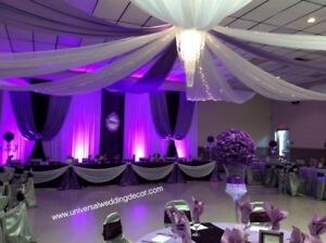 Wedding decorations kijiji in brantford buy sell save with wedding decoration event decor flower draping chair cover junglespirit Choice Image