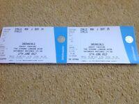 2 x tickets for dreamgirls savoy theatre