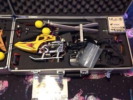E_sky belt-cp r/c helicopter and honey bee king 2 r/c helicopter