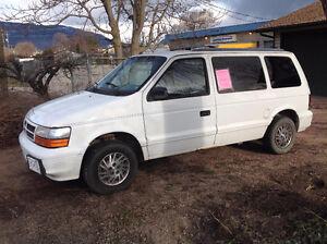 1994 Dodge Caravan SE Minivan, Van