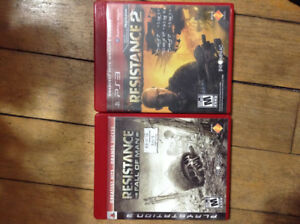 Resistance 1 & 2 PS3