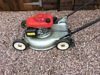 Honda mulching mower rough ground hrs 536c