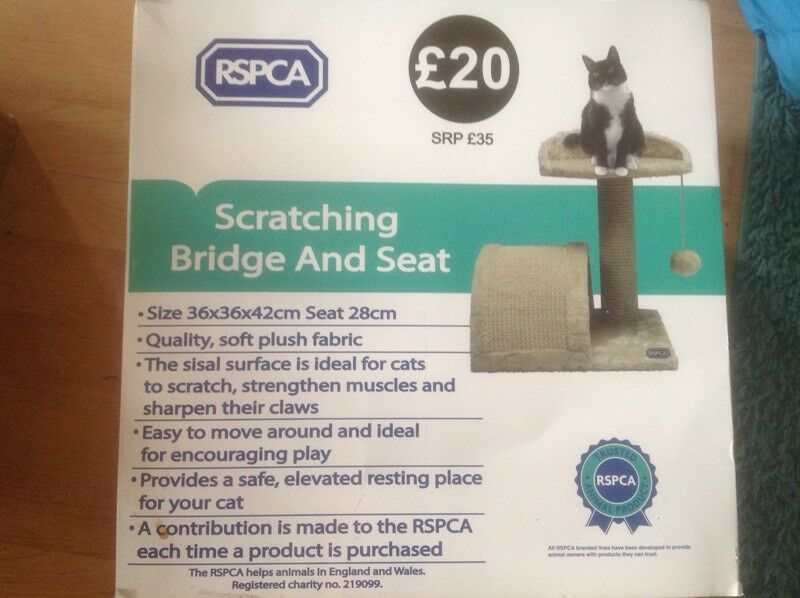 Brand new scratching bridge and seat