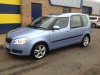 Skoda Roomster 1.9TDI PD ( 105bhp ) 3 (10 stamp service history) t/belt at 73k,