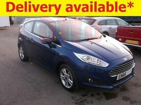 2016 Ford Fiesta Zetec 1.2 DAMAGED REPAIRABLE SALVAGE