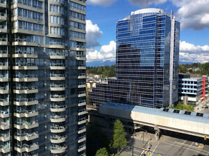City Point Tower 2: Newly renovated 1 bedroom + den
