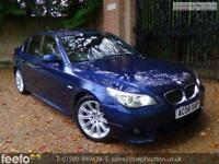 BMW 5 SERIES 535D M SPORT 2008 Diesel Automatic in Blue