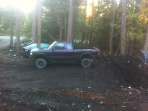Lifted ford ranger XLT