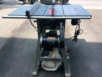Craftsman Stationary Table Saw