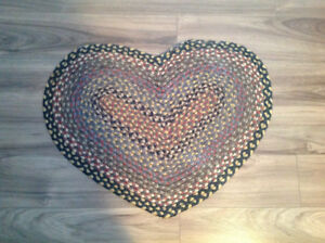 Coloured heart mat for sale