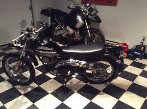 Harley Davidson 125 Two Stroke...only 617 original miles...WOW..