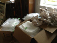 Free - Cardboard Boxes and packing paper - Free