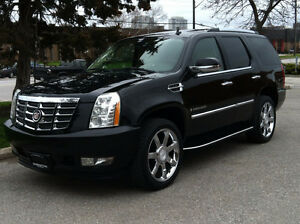 "2007 CADILLAC ESCALADE AWD - 7 PASS|NAV|DVD|22"" RIMS