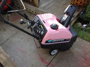 5 hp Snapper snowblower with electric stater